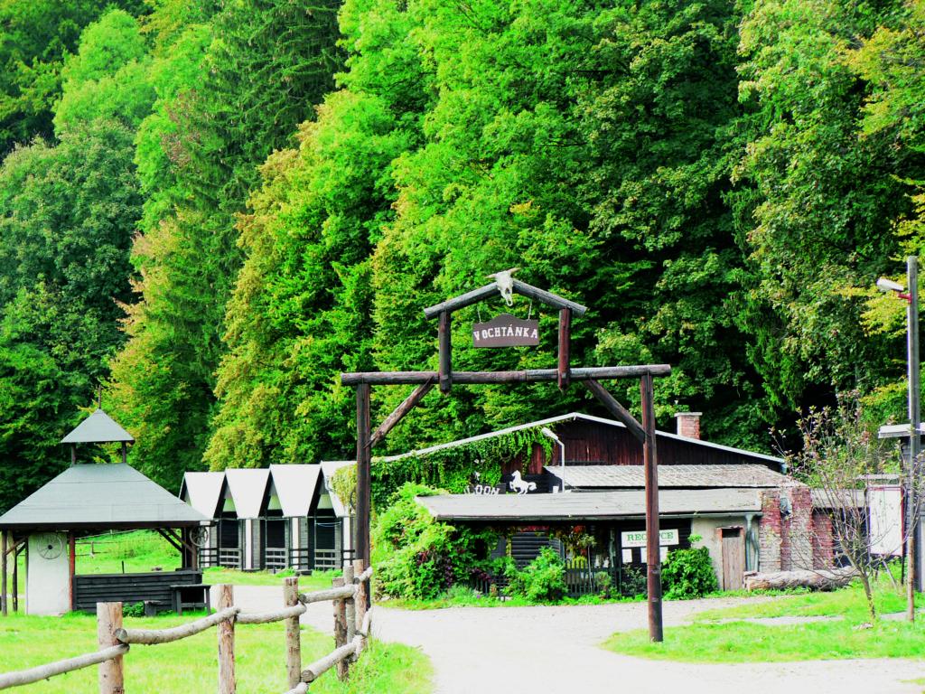 Vodácké tábořiště Vochtánka