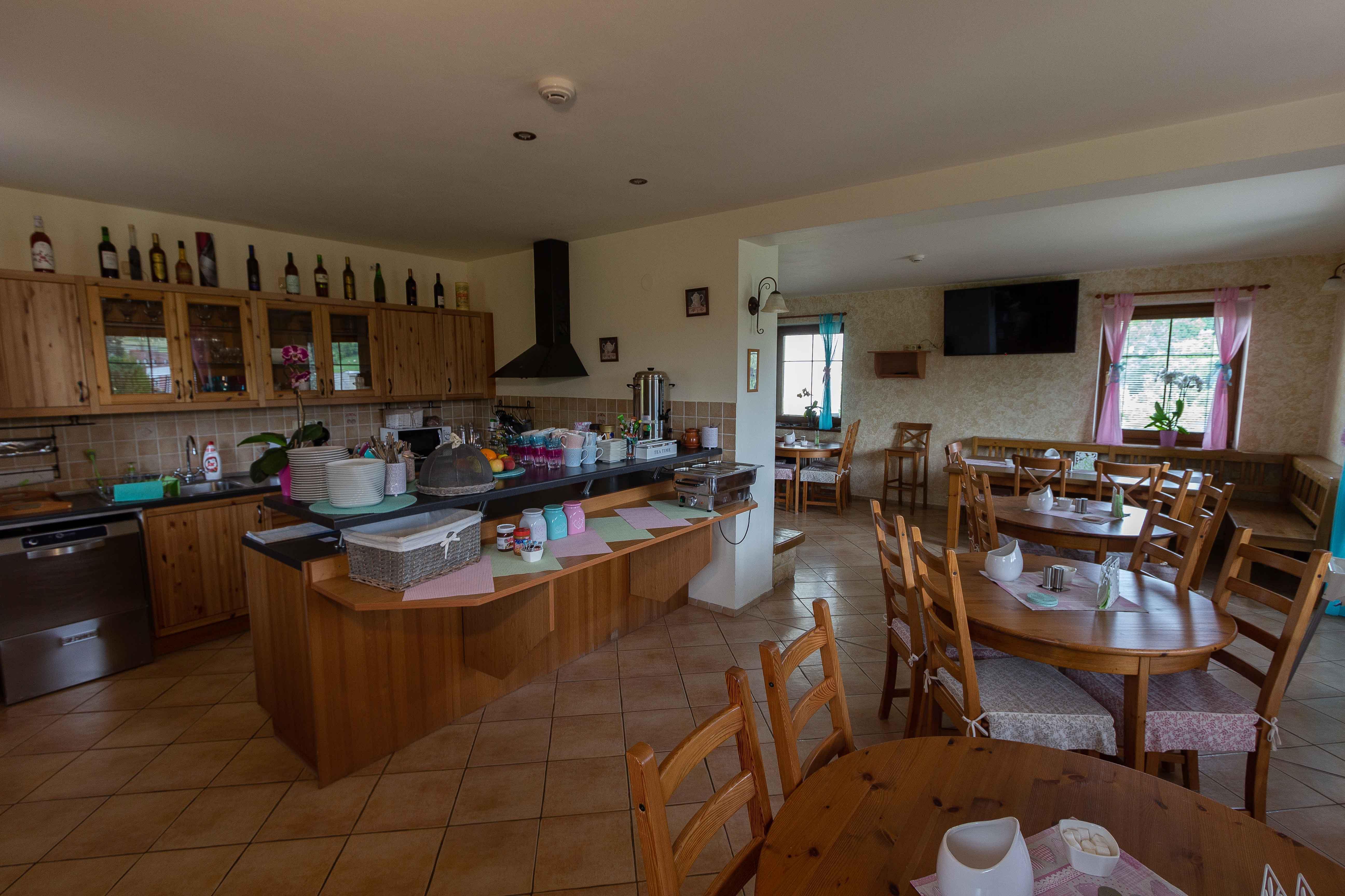 Penzion POD HRADEM Kuchyně